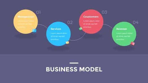 금융 비즈니스 크리에이티브 보고서 PPT 템플릿 애니메이션 디자인_03