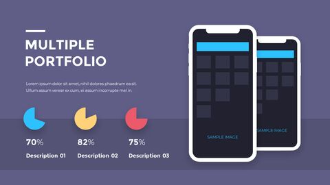 Financial Business Creative Report PPT Templates Animation Design_07