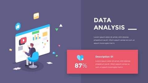Financial Business Creative Report PPT Templates Animation Design_09