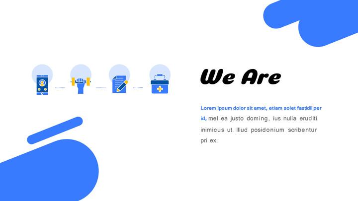 フィットネスとヘルスケアサービスの提案テーマPowerPointのアニメーションスライド_02