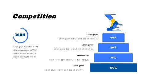 PowerPoint의 휘트니스 및 건강 관리 서비스 제안 테마 애니메이션 슬라이드_05