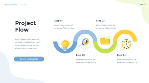 Infographic Flat Design Animated Template_08