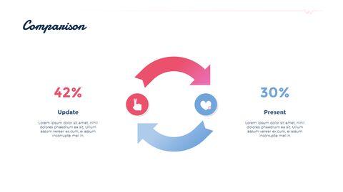 PowerPoint의 Love Match 응용 프로그램 테마 애니메이션 슬라이드_04