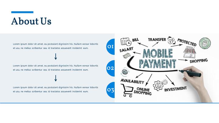 Sistema di pagamento mobile Pitch Deck Animato PowerPoint Design_02