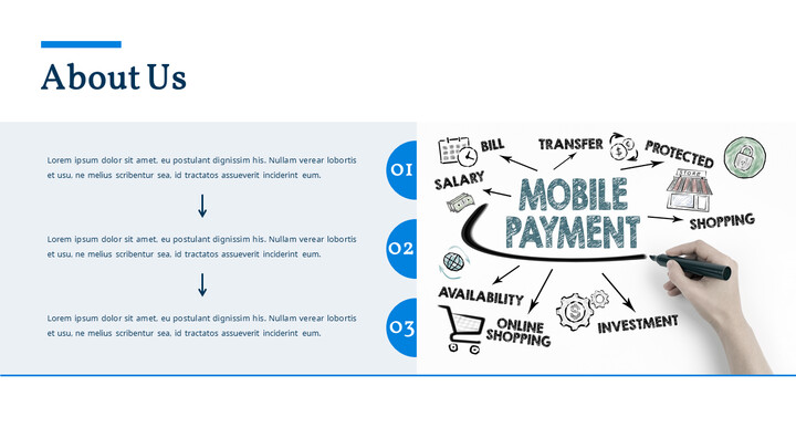 Mobile Payment System Pitch Deck Animated PowerPoint Design_02