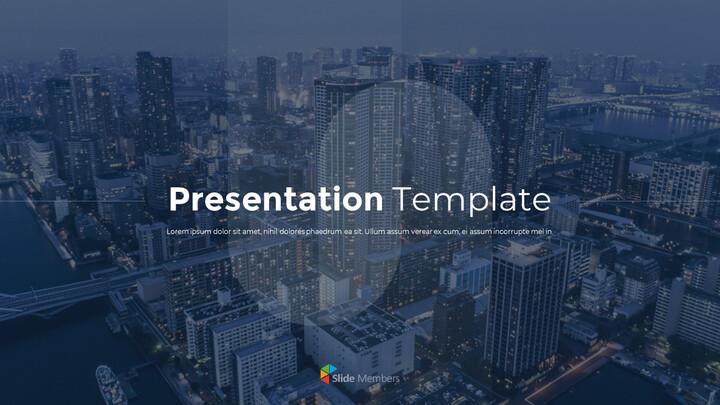 PowerPoint의 프리젠 테이션 템플릿 PPT 애니메이션 슬라이드_01