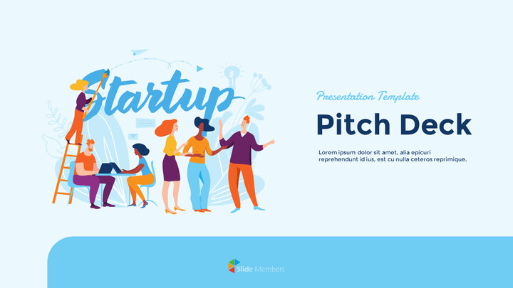 Startup Business Design Pitch Deck PPT animation templates_01