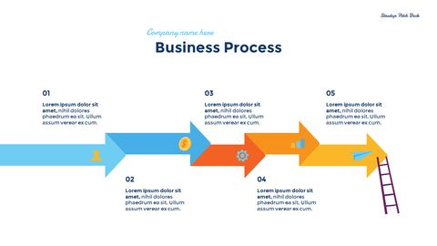 Startup Business Design Pitch Deck PPT animation templates_07