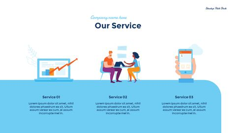 Startup Business Design Pitch Deck PPT animation templates_08