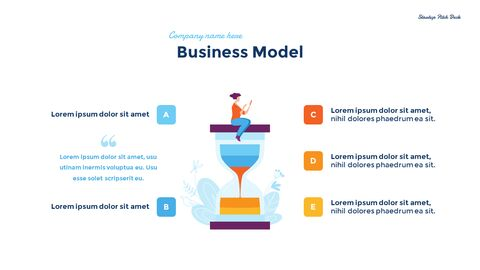 Startup Business Design Pitch Deck PPT animation templates_10