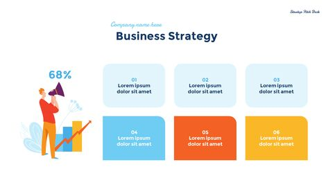 Startup Business Design Pitch Deck PPT animation templates_11