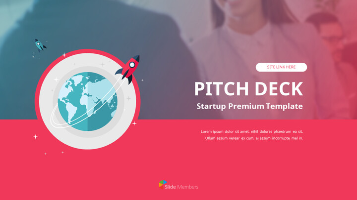 Startup Premium Flat Design Animated Template_01