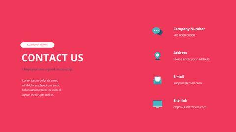 Startup Premium Flat Design Animated Template_16