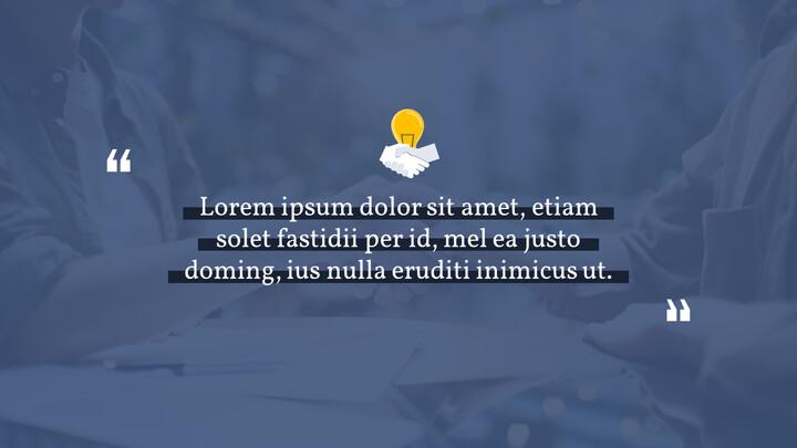 Diapositive animate del modello semplice di Ultimate Business in PowerPoint_02