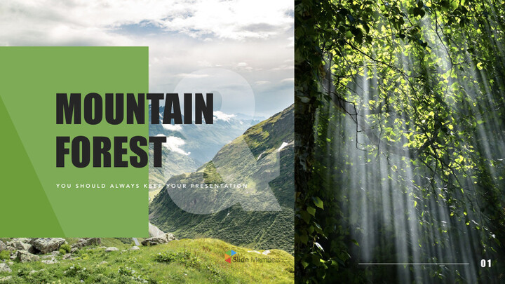 Mountain & Forest Keynote Presentation Template_01