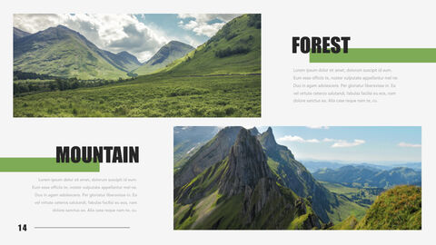 Mountain & Forest Keynote Presentation Template_14
