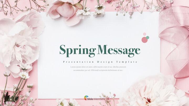 봄 메시지 윈도우 키노트_01