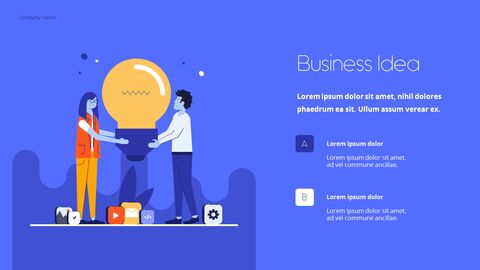 Start Business Pitch Deck Best Animated Slides in PowerPoint_03
