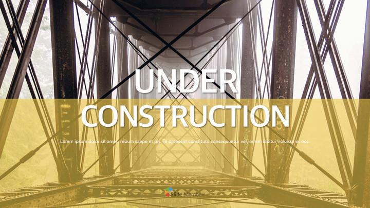 Under Construction Apple Keynote Template_01