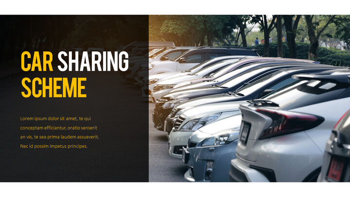 Car Sharing Business plan PPT_02