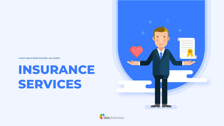 Insurance Services Pitch Deck Easy Google Slides_01