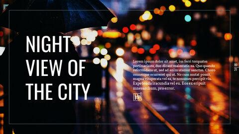 도시의 야경 파워포인트 레이아웃_21