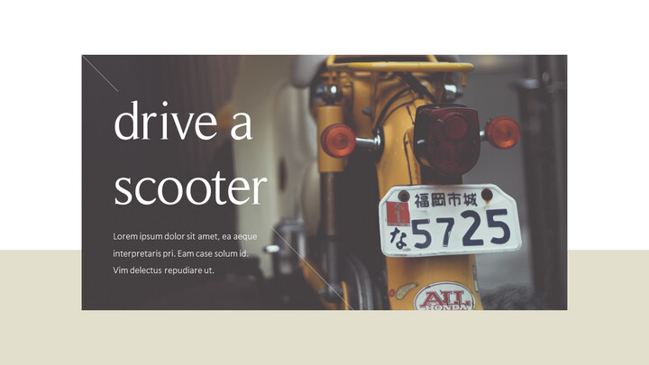 Scooter Action plan PPT_02