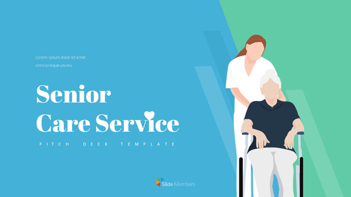 Senior Care Pitch Deck Template Google PPT Templates_01