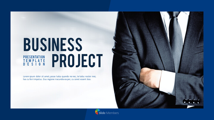Business Project PowerPoint Design Download_01