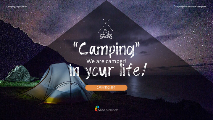 Camping PowerPoint Presentation Templates_01