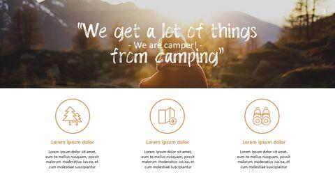 캠핑 PowerPoint 프레젠테이션 템플릿_03