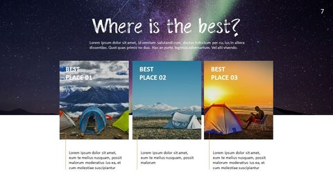 Camping PowerPoint Presentation Templates_03