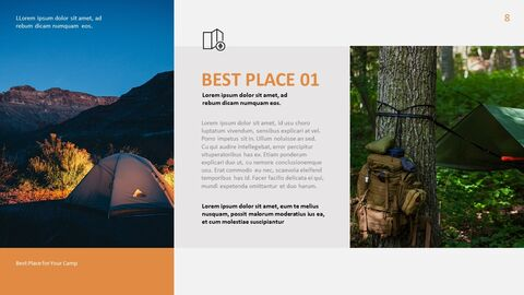Camping PowerPoint Presentation Templates_04