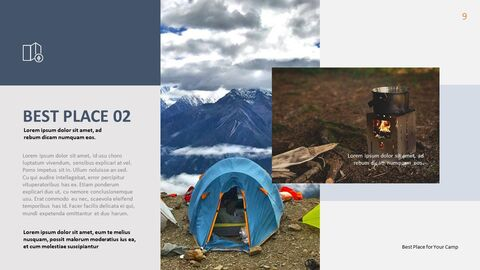 Camping PowerPoint Presentation Templates_05