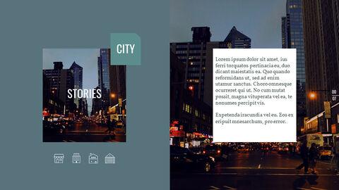 도시의 야경 Google 슬라이드의 파워포인트_02