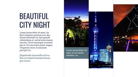 도시의 야경 Google 슬라이드의 파워포인트_03