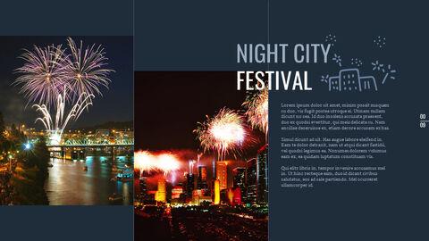 도시의 야경 Google 슬라이드의 파워포인트_04