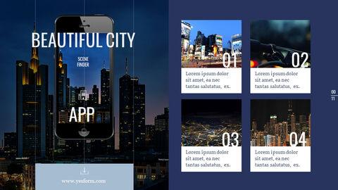 도시의 야경 Google 슬라이드의 파워포인트_05