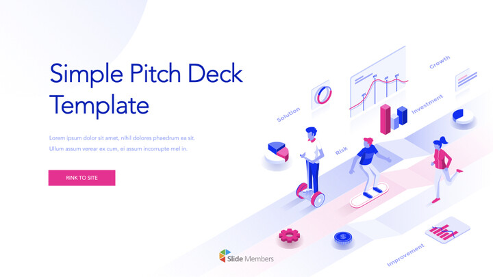 Simple Pitch Deck Template Keynote Windows_01
