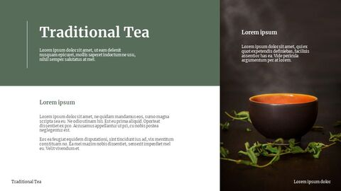 Traditional Tea Google Slides Template Design_02
