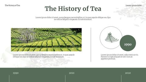 Traditional Tea Google Slides Template Design_04