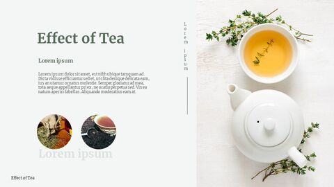 Traditional Tea Google Slides Template Design_05