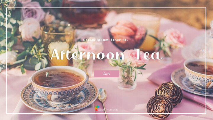 Afternoon Tea PowerPoint Presentation Examples_01