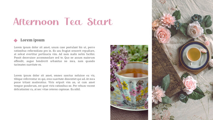 Afternoon Tea PowerPoint Presentation Examples_02