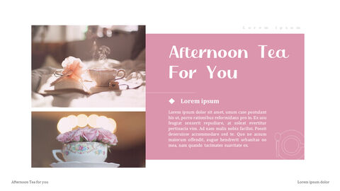 Afternoon Tea PowerPoint Presentation Examples_04
