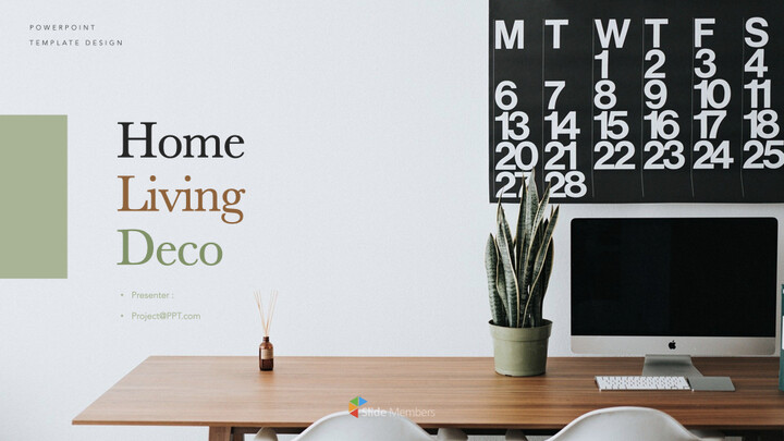 Home Living Deco Keynote Presentation Template_01