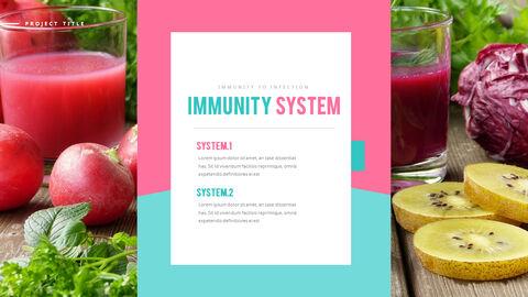 면역 식품 비즈니스 프레젠테이션 PPT_05