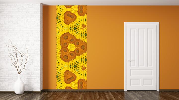 주황색, 노랑색 Artwall Mockup 프레젠테이션_02