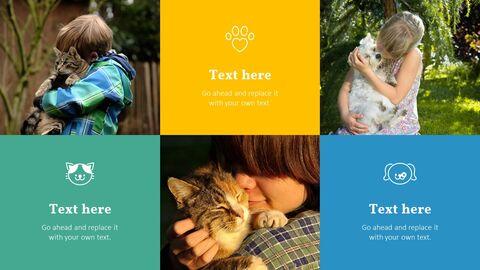 애완 동물 프레젠테이션용 PowerPoint 템플릿_09