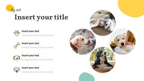 애완 동물 프레젠테이션용 PowerPoint 템플릿_22